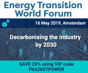 Energy Transition World Forum Event page