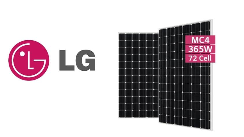 LG introduces 365-W solar panel to residential market
