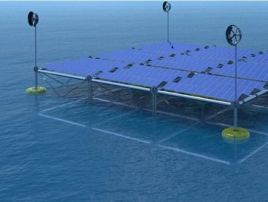 SINN Power develops floating ocean hybrid platform