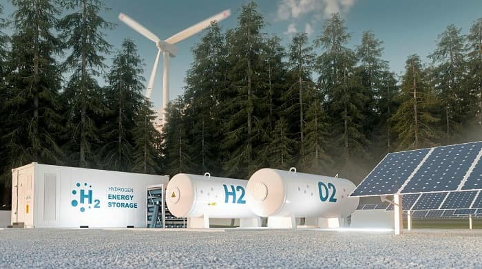 Orsted breaks ground on first renewable hydrogen project