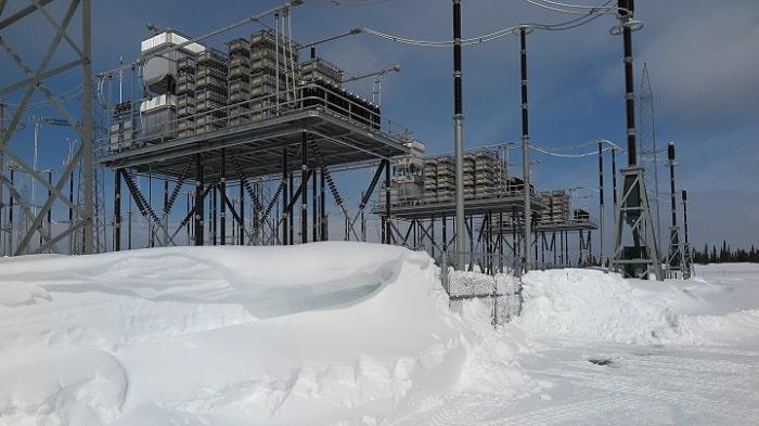 Hydro Quebec's Montagnais substation