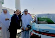 Saudi Arabia's first hydrogen fueling station