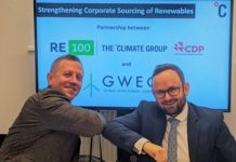 GWEC and RE100 join forces to accelerate renewable energy sourcing