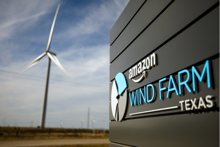 Amazon to invest in four new renewable energy projects