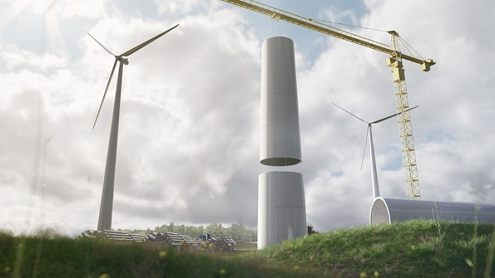Modvion gets EU grant to develop wooden wind turbine tower