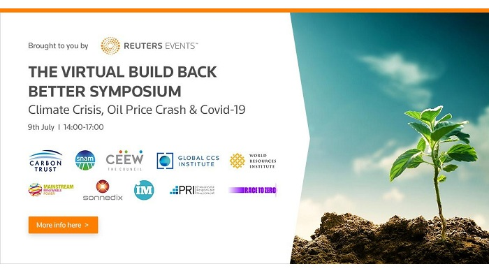The Building Back Better Symposium Climate Crisis, Oil Price and Covid - 19