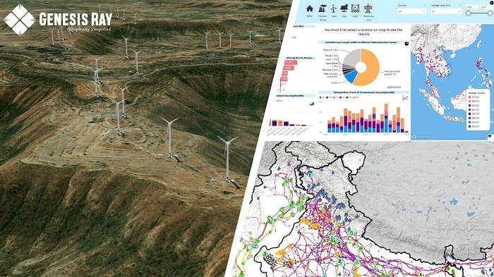 Genesis Ray Launches Unique GIS-Powered Renewable Energy Analytics Tool
