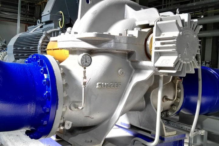 Sulzer takes the pressure out of pump operations for large scale power projects