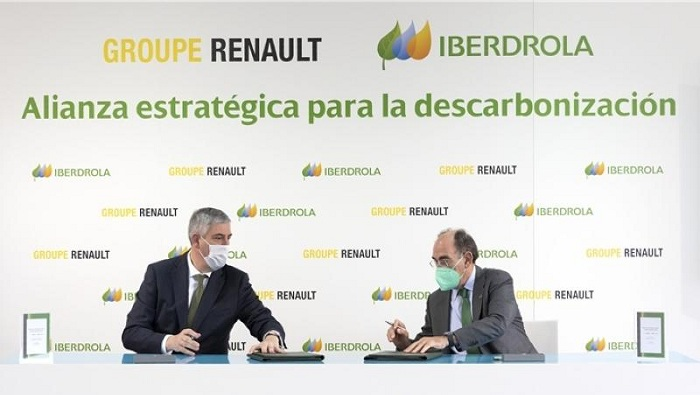 Renault signs 3-year carbon emissions reduction contract with Iberdrola