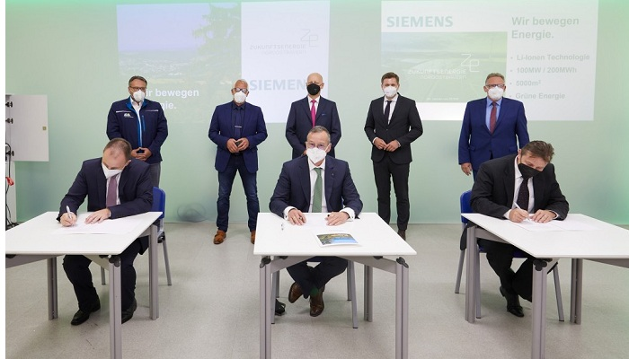 Siemens planning to build one of Europe's most powerful battery storage facilities