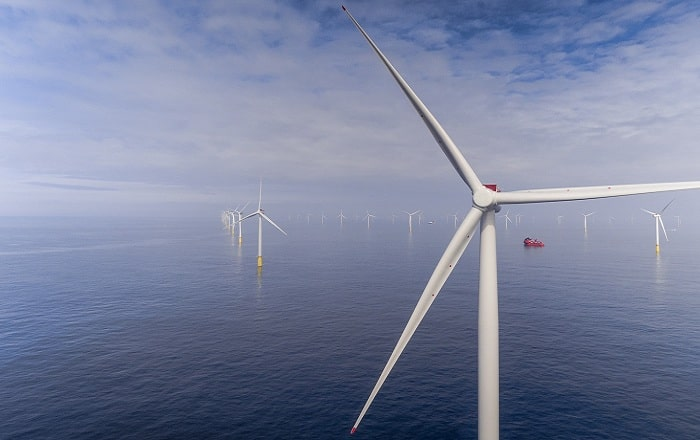 Siemens Gamesa offshore wind project