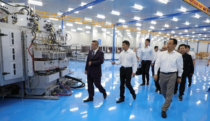 Hanergy Inaugurates the Worlds First Automated HanTile Production Line