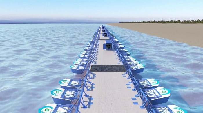Eco Wave Power Finalizes Assembly of the Hydraulic Energy Conversion Unit