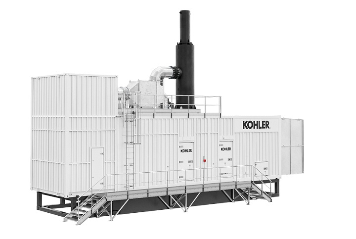 Kohler launches a range of power optimised design solutions to enable walk-in access to high-power gen sets