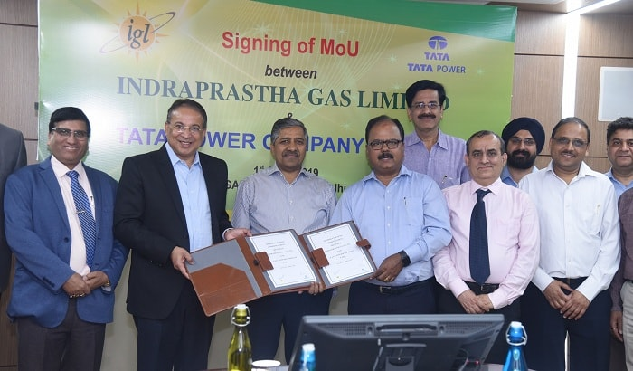 Tata Power and Indraprastha Gas Ltd