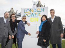 Sadiq Khan and Octopus Energy launch new renewable company