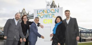Sadiq Khan and Octopus Energy launch new renewable company
