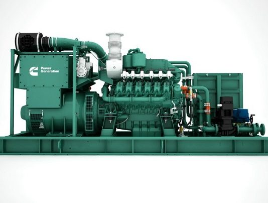 Cummins launches new C25G natural gas generator series