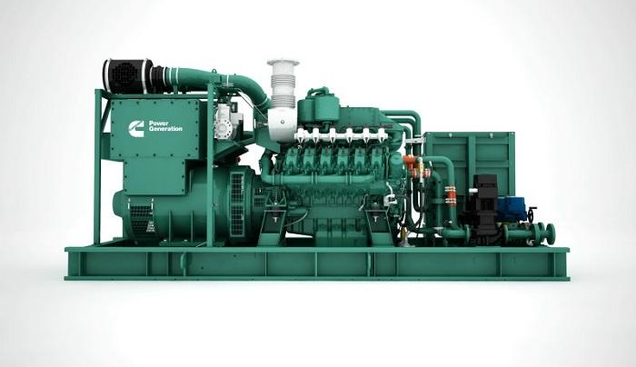 Cummins launches new C25G natural gas generator series