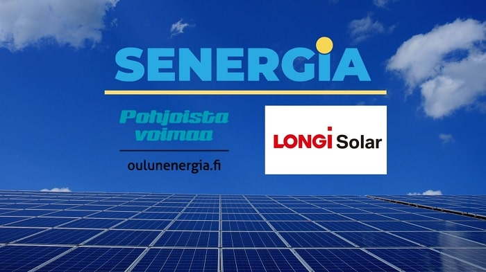LONGi enters into partnership with Senergia distributor with a first supply of 9.2 MW for the Finnish market