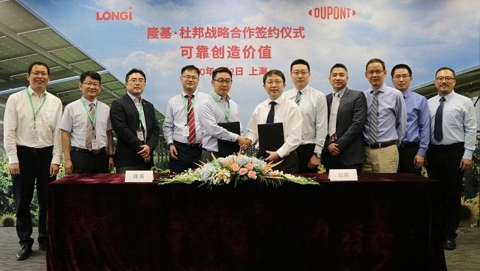 Reliability Creates Value: LONGi and DuPont strengthen strategic cooperation partnership