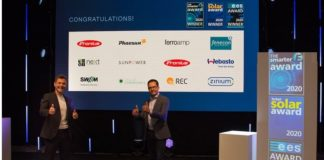 The smarter E AWARD 2020: Pioneering projects and products rewarded with innovation prize