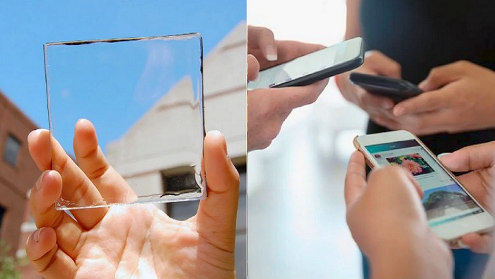 Korean researchers develop fully transparent solar panels and they're smartphone compatible