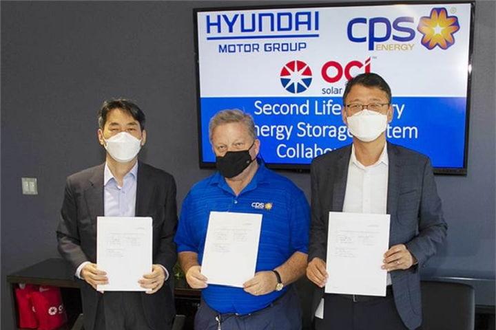 Hyundai, Kia to develop solar energy storage system using recycled EV batteries