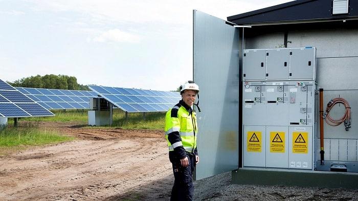 Sweden solar park