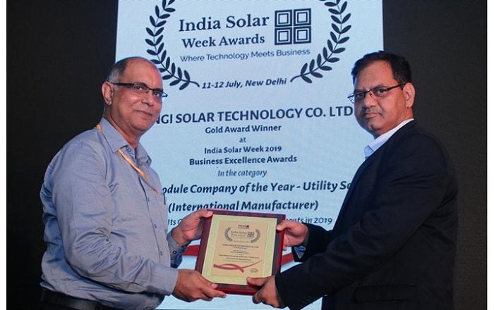 Longi solar India Solar Week 2019