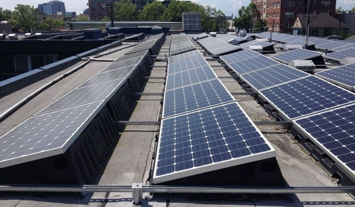 First panels laid for one of Australia's largest rooftop solar arrays