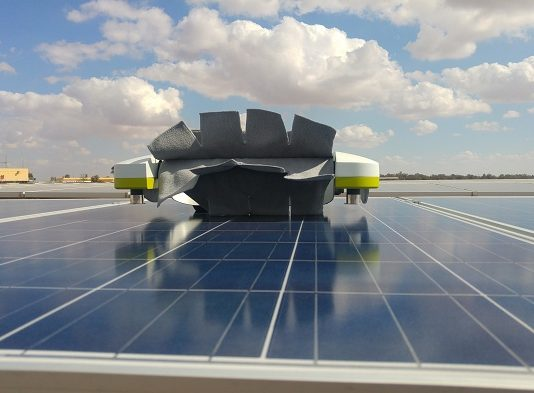 Cloud-Based Robotic Solar Panel Cleaning Solution
