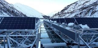 ABB powers pioneering floating solar plant in Switzerland