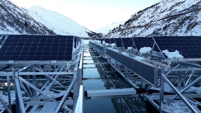 ABB powers pioneering floating solar plant in Switzerland