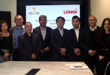 LONGi contracts with Atlas Renewable Energy for supply of 122MW bifacial modules in Chile