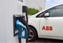 ABB electric vehicle charger