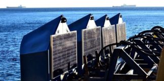 Eco Wave Power Installs a Combined Wave and Solar System in Gibraltar