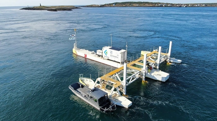 Canadian Government announces major investment in tidal energy in Nova Scotia