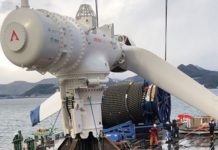 Atlantis delivers tidal power system to Japanese harbour