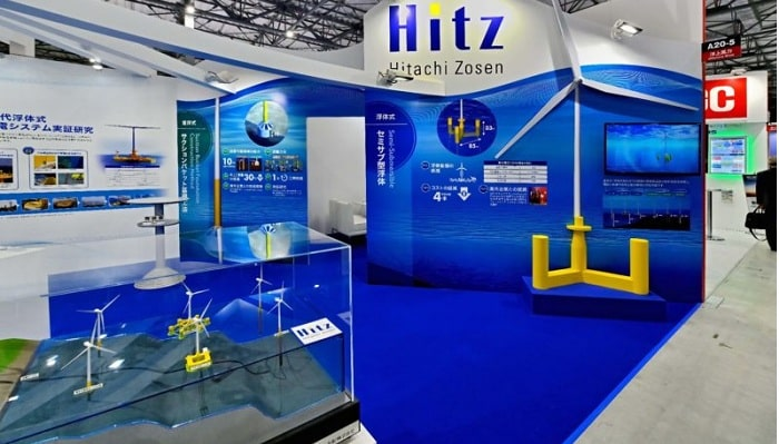 Hitachi Zosen and Naval Energies expand floating wind cooperation