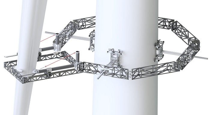 Forth Engineering is developing the RADBLAD technology which will complete a full X-ray survey of wind turbines