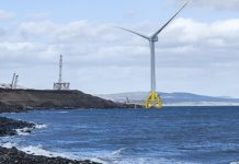 BladeBUG and ORE Catapults robot completes first blade walk on UK turbine