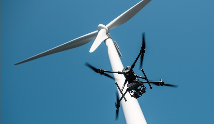 Sulzer Schmid and ENERTRAG Betrieb improve wind turbine blade inspections with new drone-based lightning protection system testing solution