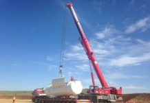 ALE crane lifting for WIND