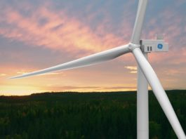 GE Onshore Wind Farm in Sweden